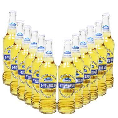 【聚优惠】千岛湖金版啤酒 500ml*12瓶