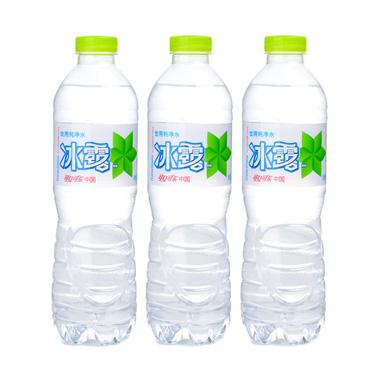 【可口可乐】冰露纯净水 550ml*3瓶图片
